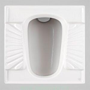 توالت زمینی چینی کرد مدل اریکا
