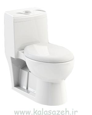 توالت فرنگی چی کرد مدل لوییزا