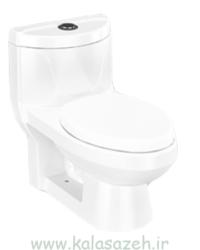 توالت فرنگی چینی کرد مدل دافنه 1