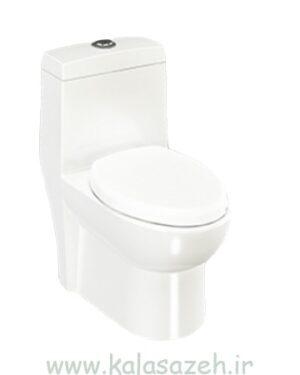 توالت فرنگی چینی کرد مدل کارینا