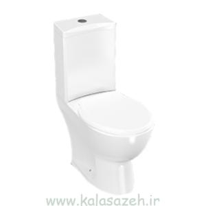 توالت فرنگی چینی کرد مدل کاملیا