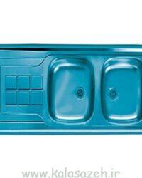 سینک ظرفشویی روکار اخوان مدل 12050AN