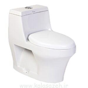 توالت فرنگی چینی کرد مدل هلنا