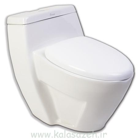 توالت فرنگی چینی کرد مدل هدرا