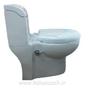 توالت فرنگی چینی کرد مدل والریا بیده دار