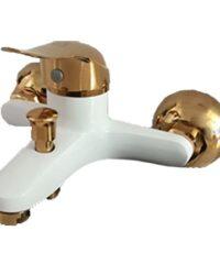 شیر حمام سفید طلایی