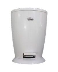 سطل و فرچه سرویس بهداشتی سفید