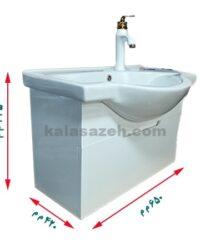 روشویی کابینتی PVC کد 9000